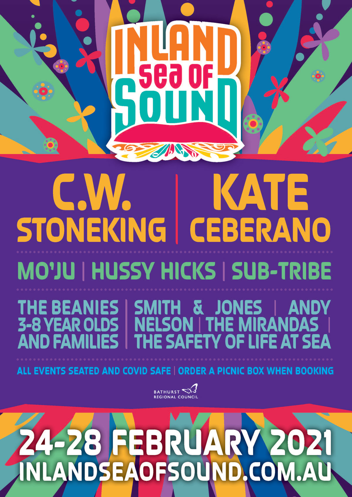 Inland Sea of Sound Poster of Events